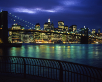 ニューヨーク/マンハッタンの夜景(イメージ)