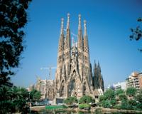 バルセロナ/サグラダファミリア教会