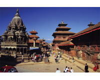 【羽田】【羽田発】 ネパール周遊ハイライト コンパクトに巡る 6日 タイ国際航空利用 シルバークラスのホテル