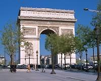 パリ/凱旋門(フリータイム・イメージ)