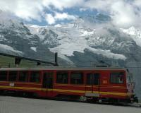 ユングフラウ登山電車(イメージ)