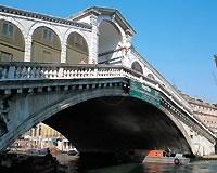 ベネチア/大運河にかかるリアルト橋