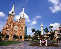 サイゴン大教会とマリア像(イメージ)