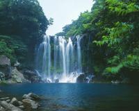 済州島/天帝淵瀑布(イメージ)