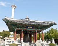 釜山/龍頭山公園と釜山タワー