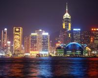 香港の夜景/イメージ