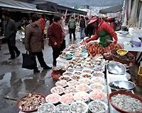 釜山/チャガルチ市場(フリータイム)