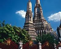 バンコク/暁の寺院