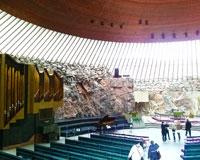石の教会(テンペリアウキオ教会)