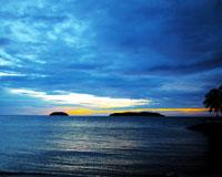ビーチの夕焼け/イメージ