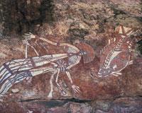 カカドゥ国立公園/アボリジニの壁画