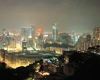 香港の夜景(イメージ)
