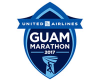 ユナイテッド・グアムマラソン2017ロゴ