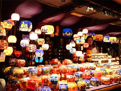 ロンドンクリスマスマーケット(イメージ)