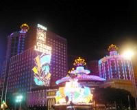 カジノ夜景(イメージ)