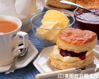 イギリス/紅茶とスコーン