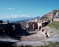 タオルミーナ/古代ギリシャ劇場(イメージ)