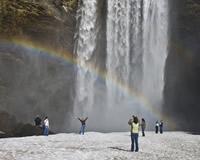 南海岸地方/スコゥガフォス滝(イメージ)