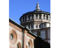 ミラノ/サンタ・マリア・デレ・グラツィエ教会(イメージ)