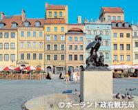 ワルシャワ/旧市街広場
