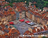 ワルシャワの街並み(イメージ)