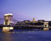 ブダペスト/くさり橋と王宮(イメージ)