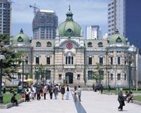 大連/中山広場にある旧横浜正金銀行