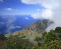 カウアイ島/カララウ展望台からのナパリコースト(イメージ)