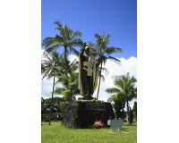 ハワイ島/カメハメハ大王像