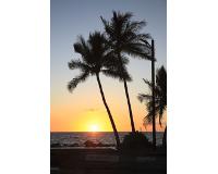ハワイ島/コハラコーストの夕日(フリータイム・イメージ)