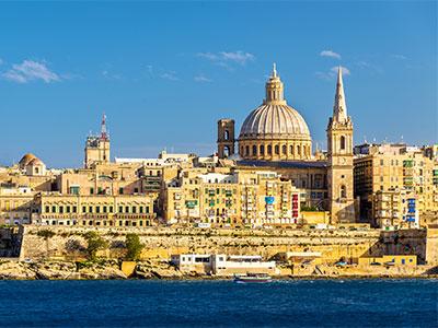 エミレーツ航空で行くヨーロッパ お好きな1都市 マルタ 7日 スタンダードクラスのホテル