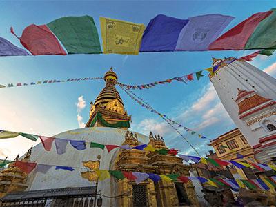 【大阪/関西】ペアシート 地球見聞録 ネパール周遊ハイライト コンパクトに巡る 6日 シルバーコース 燃油込
