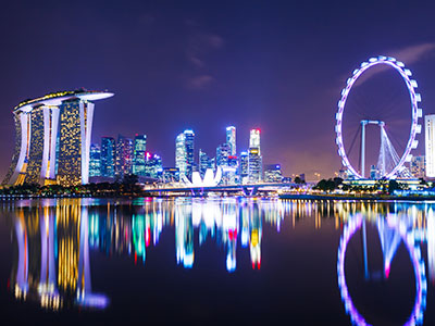 シンガポール航空で行く シンガポール 4日 ★往復送迎付き・朝食付き★ ヨークホテル 往路:午前発/復路:午前着 【秋~早春の先どり!】