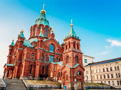 ヘルシンキ 6日 フィンランド航空往復直行便利用 スタンダードクラスのホテル