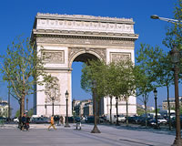 パリ 6日 エールフランス航空利用 スタンダードクラスのホテル[サンラザール駅~パサージュエリア]